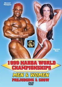 1999 NABBA World Championships Men & Women Prejudging & Show
