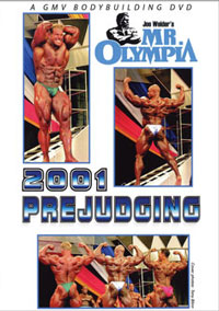 2001 MR. OLYMPIA: THE PREJUDGING