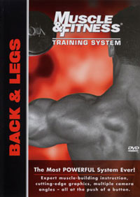 Muscle & Fitness Training System - Back & Legs