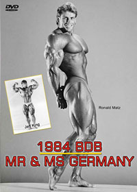 1984 BDB Mr & Ms Germany: The Show