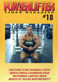 Powerlifter Video Magazine Issue # 18