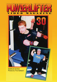 Powerlifter Video Magazine Issue # 30