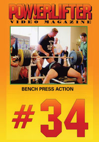 Powerlifter Video Magazine Issue # 34