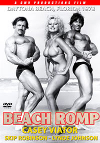 Casey Viator & Skip Robinson in Beach Romp with Lynde Johnson