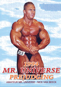 1994 NABBA Universe: The Men - Prejudging
