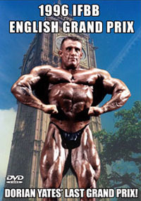 1996 IFBB ENGLISH GRAND PRIX - Dorian Yates Last Grand Prix Win