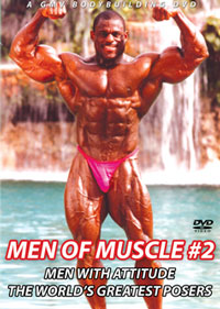 MEN OF MUSCLE #2 - MEN WITH ATTITUDE THE WORLD'S GREATEST POSERS