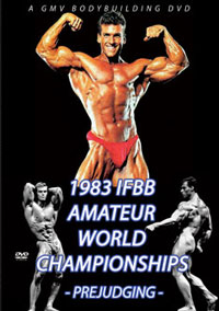 1983 IFBB World Championships Mr Universe: The Prejudging