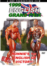 1999 IFBB English Grand Prix - Ronnie's 1st English GP Victory