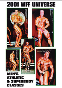 2001 WFF Universe: Men's #3 - Athletic & Superbody Classes