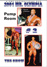 2001 Mr. Olympia: The Pump Room # 2 - The Show