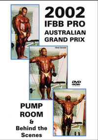 2002 IFBB Australian Pro Grand Prix Pump Room