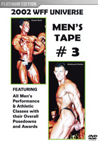 2002 WFF Universe: The Men - DVD # 3