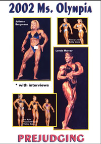 2002 Ms. Olympia Prejudging: With Interviews