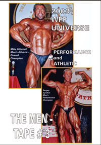 2003 WFF Universe: The Men - DVD # 3