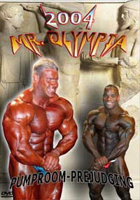 2004 Mr. Olympia - Prejudging Pump Room