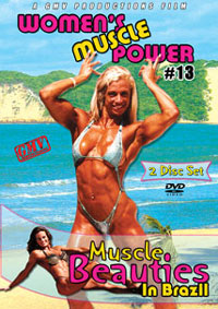Women's Muscle Power #13 – Muscle Beauties in Brazil 2 disc set