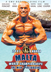 2007 NABBA World Championships: The Men - Prejudging