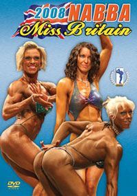 2008 NABBA MISS BRITAIN – PREJUDGING and SHOW