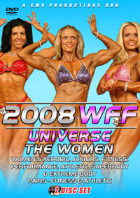 2008 WFF Universe - The Women 2 Disc Set