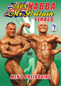 2009 NABBA Britain Finals The Men's Prejudging