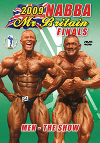 2009 NABBA Britain Finals Men The Show