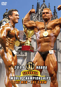 2009 NABBA World Championships: The Men – The Show