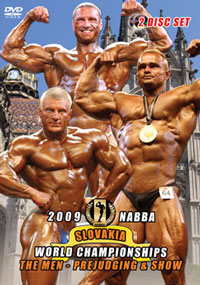 2009 NABBA World Championships Men Prejudging & Show