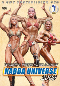 2009 NABBA UNIVERSE THE WOMEN PREJUDGING & SHOW