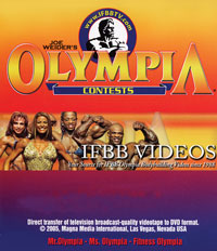 1986 Mr. Olympia Historic DVD