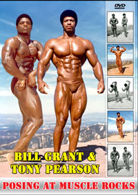 Bill Grant and Tony Pearson: Posing at Muscle Rocks
