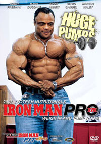 2007 Iron Man Pro - Weigh In and Pump Room
