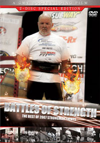 Strongman Battles of Strength 2 DVD set