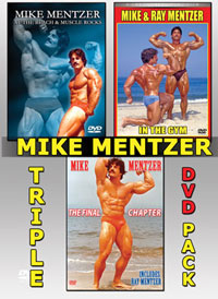 Mike Mentzer Triple DVD Pack - 3 DVD Set