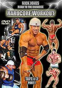 Nick Jones Road to the Universe: Hard Core Workout - 2 DVD set