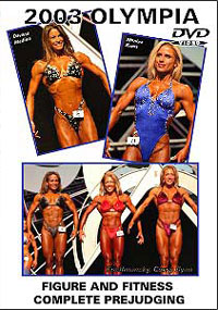 2003 Olympia - Figure and Fitness Prejudging