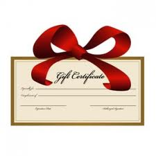 Gift Certificate $ 39.95